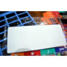 Etiqueta blanca imprimible en Hoja Din A4